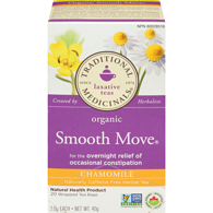 Organic Smooth Move Chamomile Herbal Tea