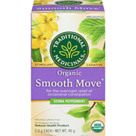 Organic Smooth Move Peppermint Herbal Tea
