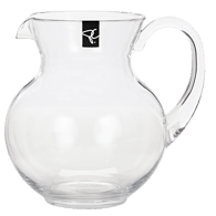 Pitcher with Clear Handle