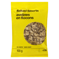 Flaked Filberts