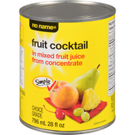 Fruit Cocktail in Juice From Concentrate