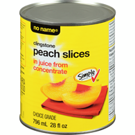 Peach Slices, in Juice