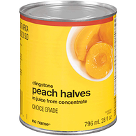 Peach, Halves, in Juice