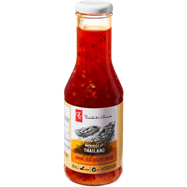 PC Memories Of Thailand Fiery Chili Pepper Sauce