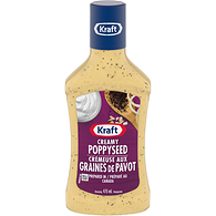 Salad Dressing, Creamy Poppyseed