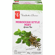 Moroccan-Style Mint Green Tea