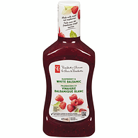 Salad Dressing, Raspberry & White Balsamic