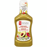 Salad Dressing, Lime-Jalapeno & Avocado