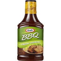 BBQ Sauce with Onion Bits