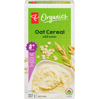 Oat Cereal, Just Add Water