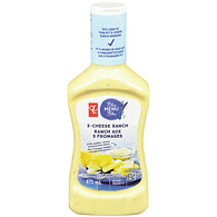 Blue Menu Salad Dressing, 3 Cheese Ranch