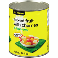 Mixed Fruit with Cherry Syrup