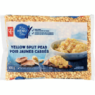 Blue Menu Yellow Split Peas