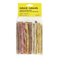 Natural Munchy Rawhide Sticks