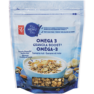Blue Menu Granola Boost With Omega-3, Banana Nut