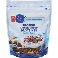 Blue Menu Granola Boost With Protein, Chocolate
