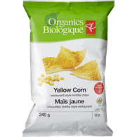 Tortilla Chips, Yellow Corn