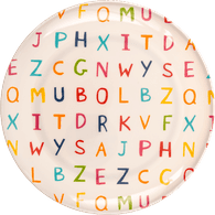 Round Letter Plate