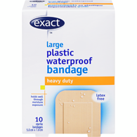 Latex Free Waterproof Patch Bandage