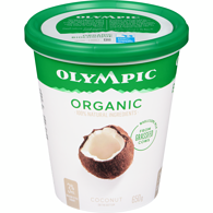 Organic Probiotic Yogurt, Coconut