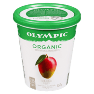 Organic Probiotic Yogurt, Mango