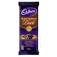 Dairy Milk Burnt Almond Dark Chocolate, Family Size