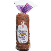 Cinnamon Raisin Bread, Extra Thick Sliced