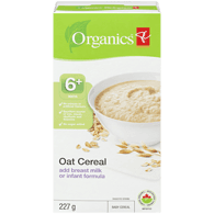 Oat Cereal Add Breast Milk Or Infant Formula Baby Cereal