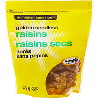 Golden Raisins, Seedless
