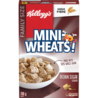 Mini Wheats, Brown Sugar Family Size