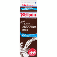 Chocolate Milk, 25% Less Sugar