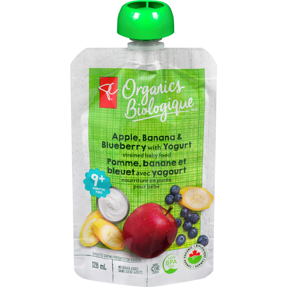 PC Organics Apple, Banana & Blueberry
