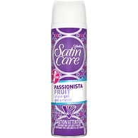 Satin Care Passionista Fruit Shave Gel