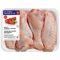 Air Chilled Turkey Wings, Split