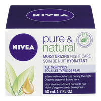 Pure & Natural Moisturizing Night Care