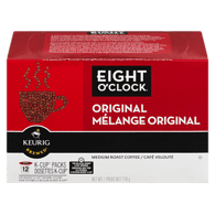 Eight O'Clock Medium Roast Coffee Original