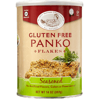 Gluten Free Panko Flakes, Seasoned