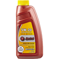 5W High Mileage Synthetic Blend Oil