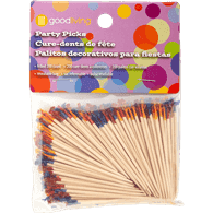Frilled Toothpicks