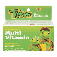Chewable Multi-Vitamin, Mixed Fruit & Wildberry
