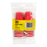 Plastic Shot Cups, 2oz
