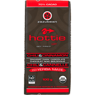 Organic Hottie Dark Chocolate, Chili & Cinnamon