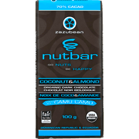 Nutbar Organic Dark Chocolate, Coconut & Almond