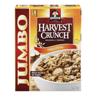 Harvest Crunch Cereal, Original