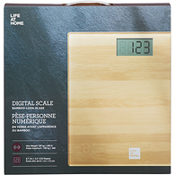 Bamboo Digital Bathroom Scale