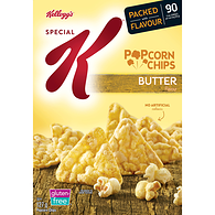Popcorn Chips, Butter Flavour