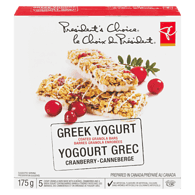 Greek Yogurt Granola Bar, Cranberry