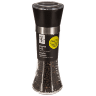 No Mess Pepper Grinder, Black