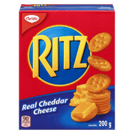 Ritz Crackers, Real Cheddar Cheese