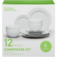 12-Piece Dinnerware Set